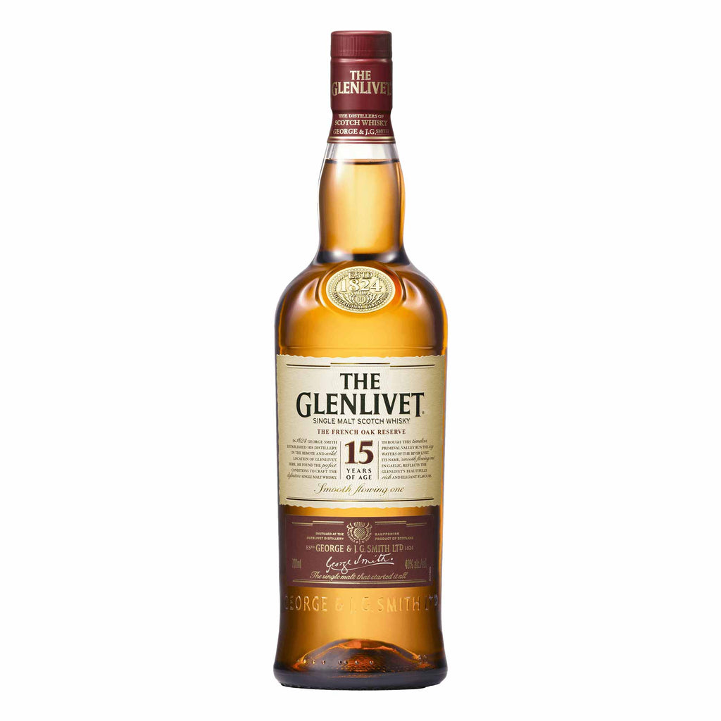The Glenlivet French Oak 15 Year Single Malt Scotch