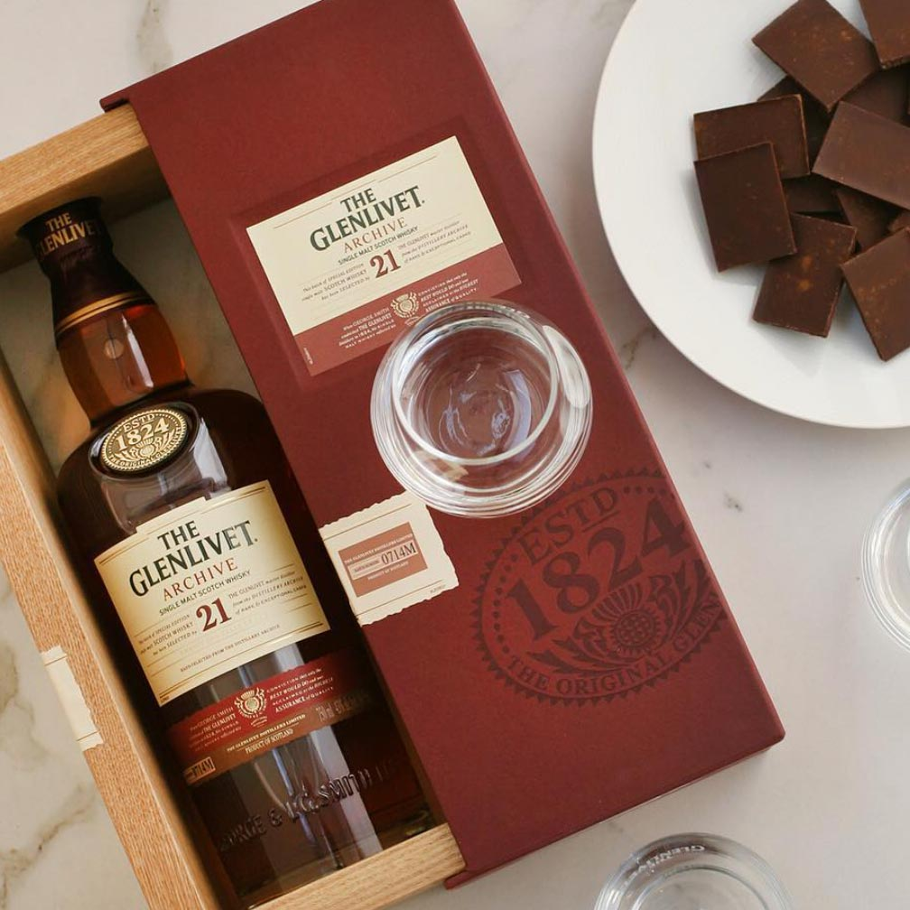 The Glenlivet 21 Year Archive