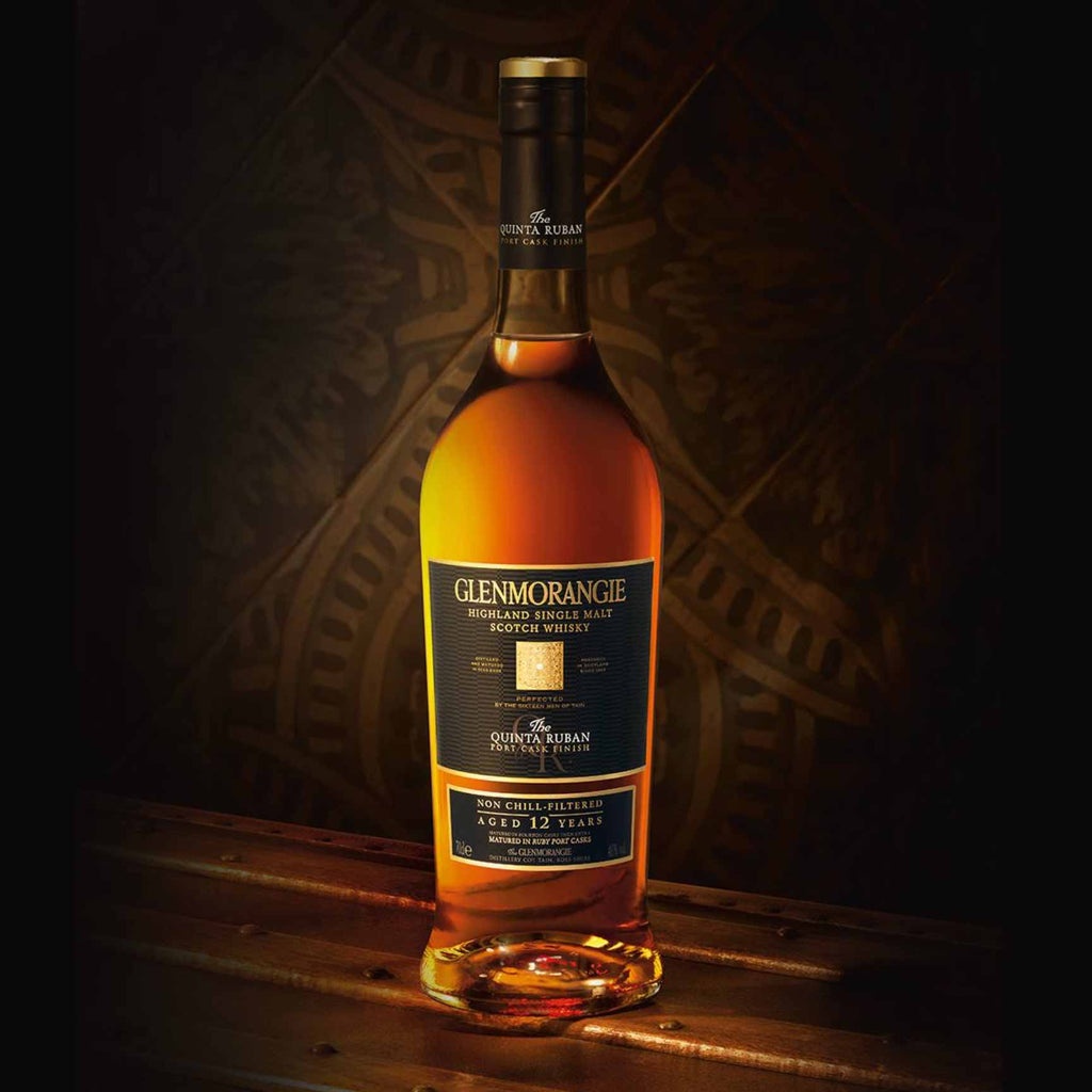 Glenmorangie Quinta Ruban Single Malt Scotch 750mL