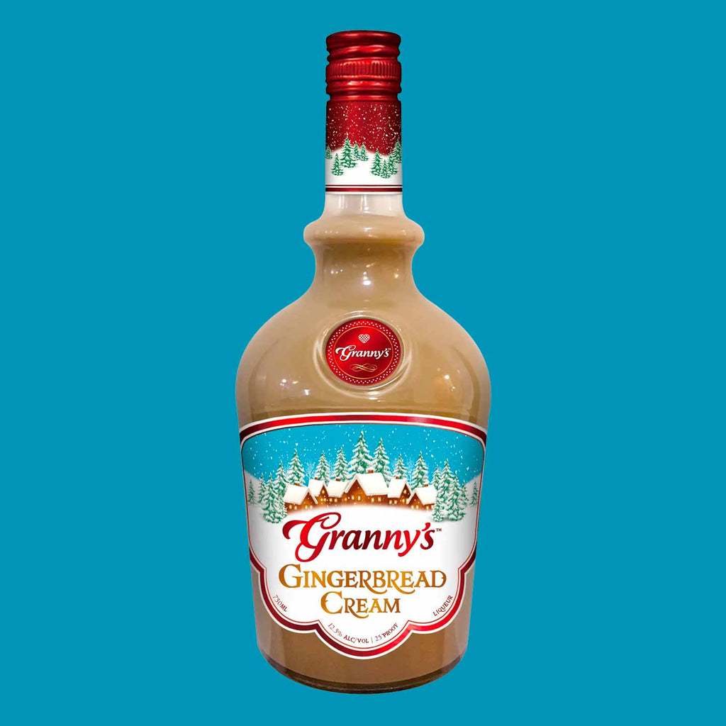 Granny's Gingerbread Cream Liqueur 750mL