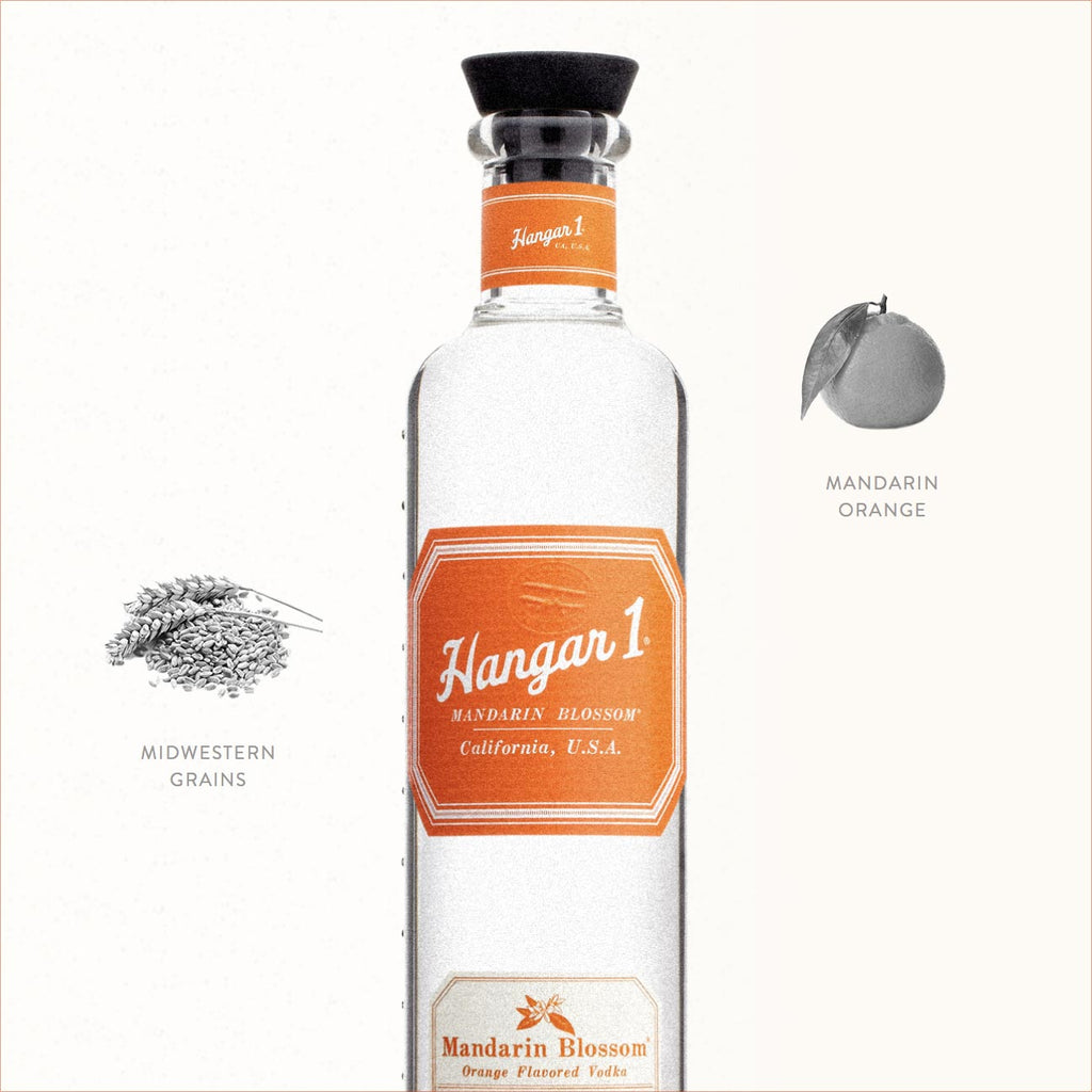 Hangar One Mandarin Blossom Vodka 750mL