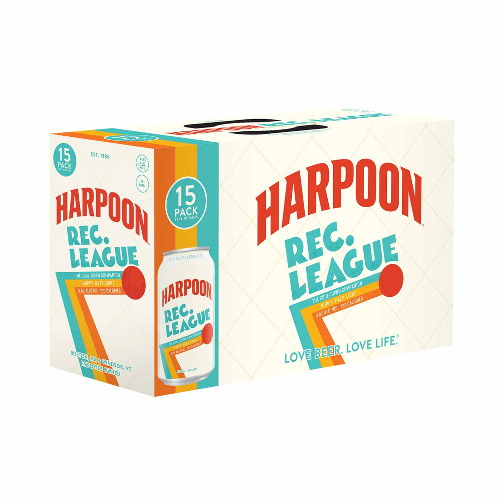 Harpoon Rec. League Hazy Pale Ale 15pk
