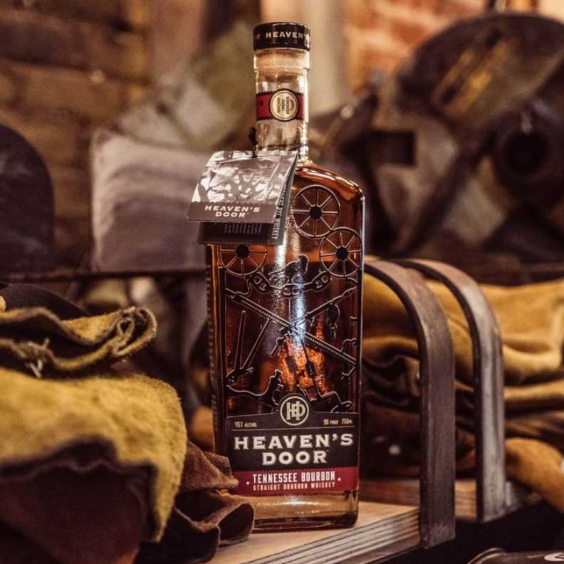 Heaven's Door Straight Bourbon Whiskey