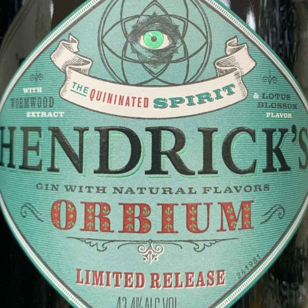 Hendrick's Orbium Gin 750mL