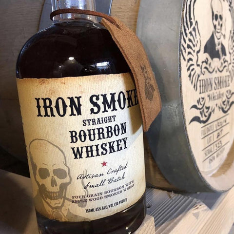 Iron Smoke Straight Bourbon Whiskey 750mL