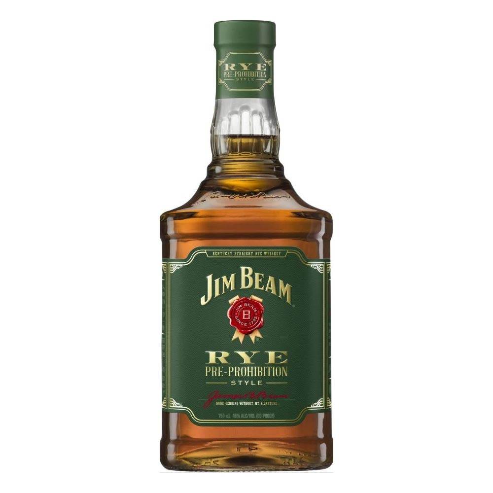 Jim Beam Rye Pre-Prohibition Style 750mL