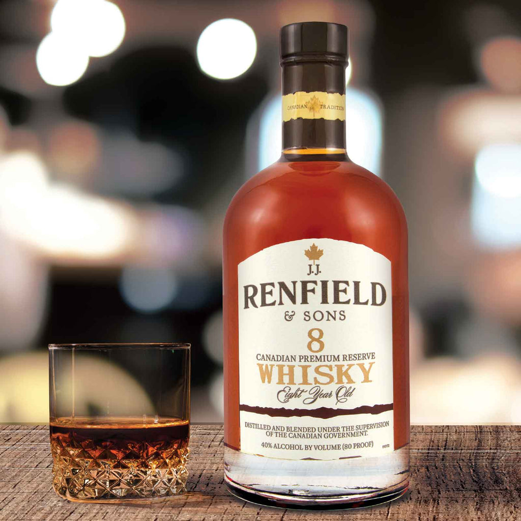 JJ Renfield & Sons Canadian Whisky 1.75L