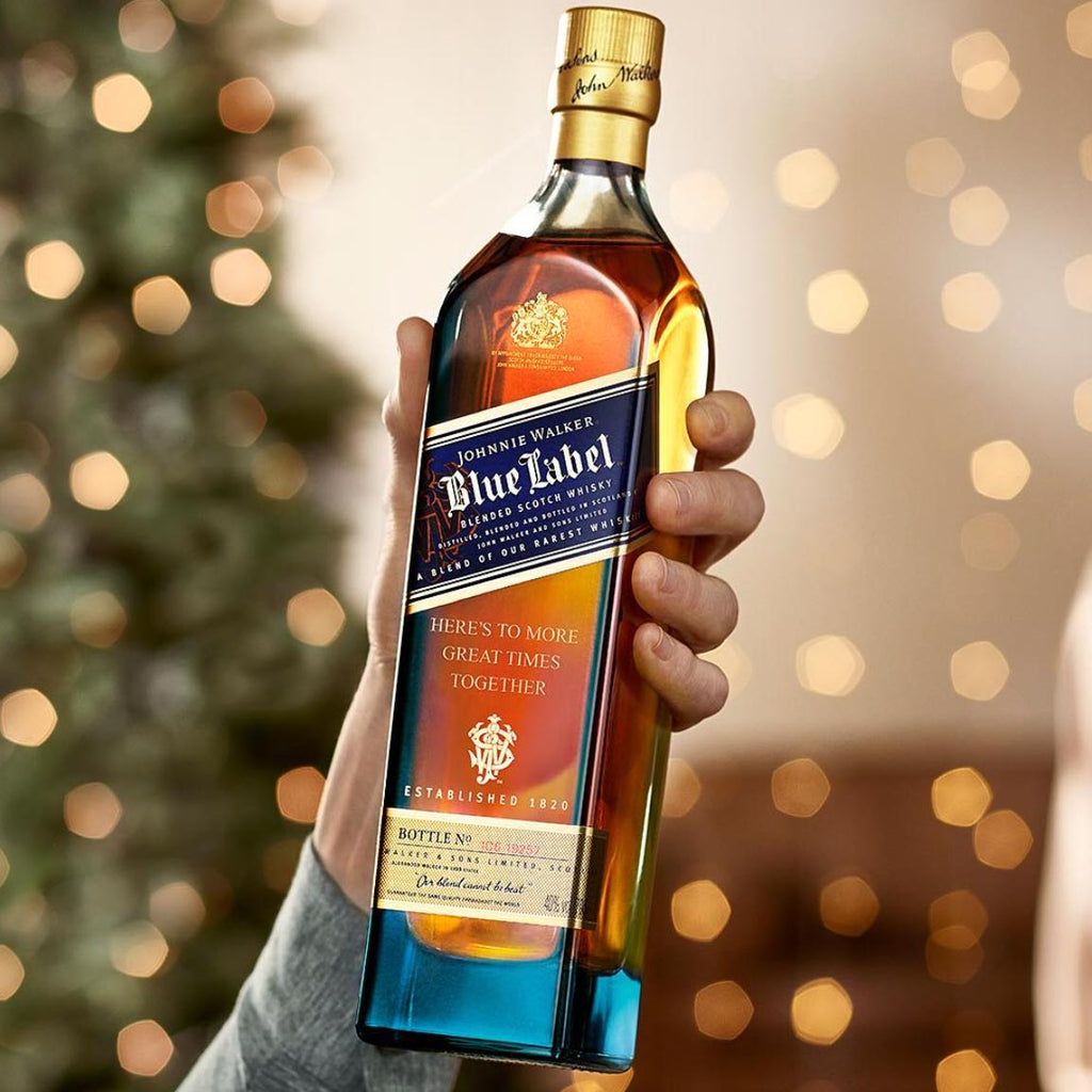 Johnnie Walker Blue Label Blended Scotch Whiskey 750mL