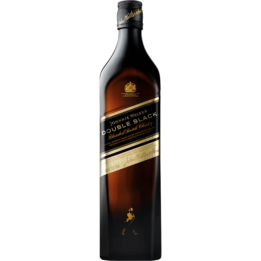 Johnnie Walker Double Black Blended Scotch Whisky 750mL
