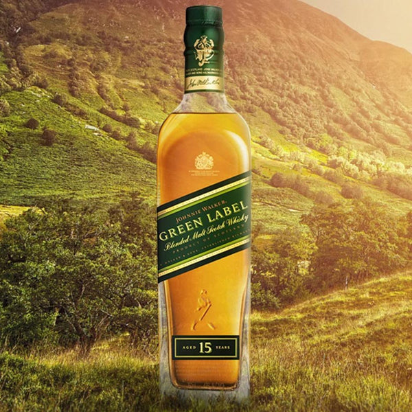 Johnnie Walker Green 15 Year Single Malt Scotch 750mL