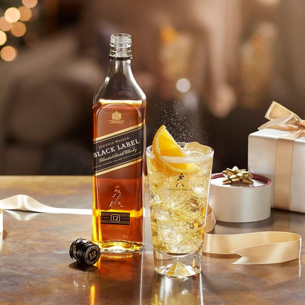 Johnnie Walker Black 12 Year Single Malt Scotch 750mL