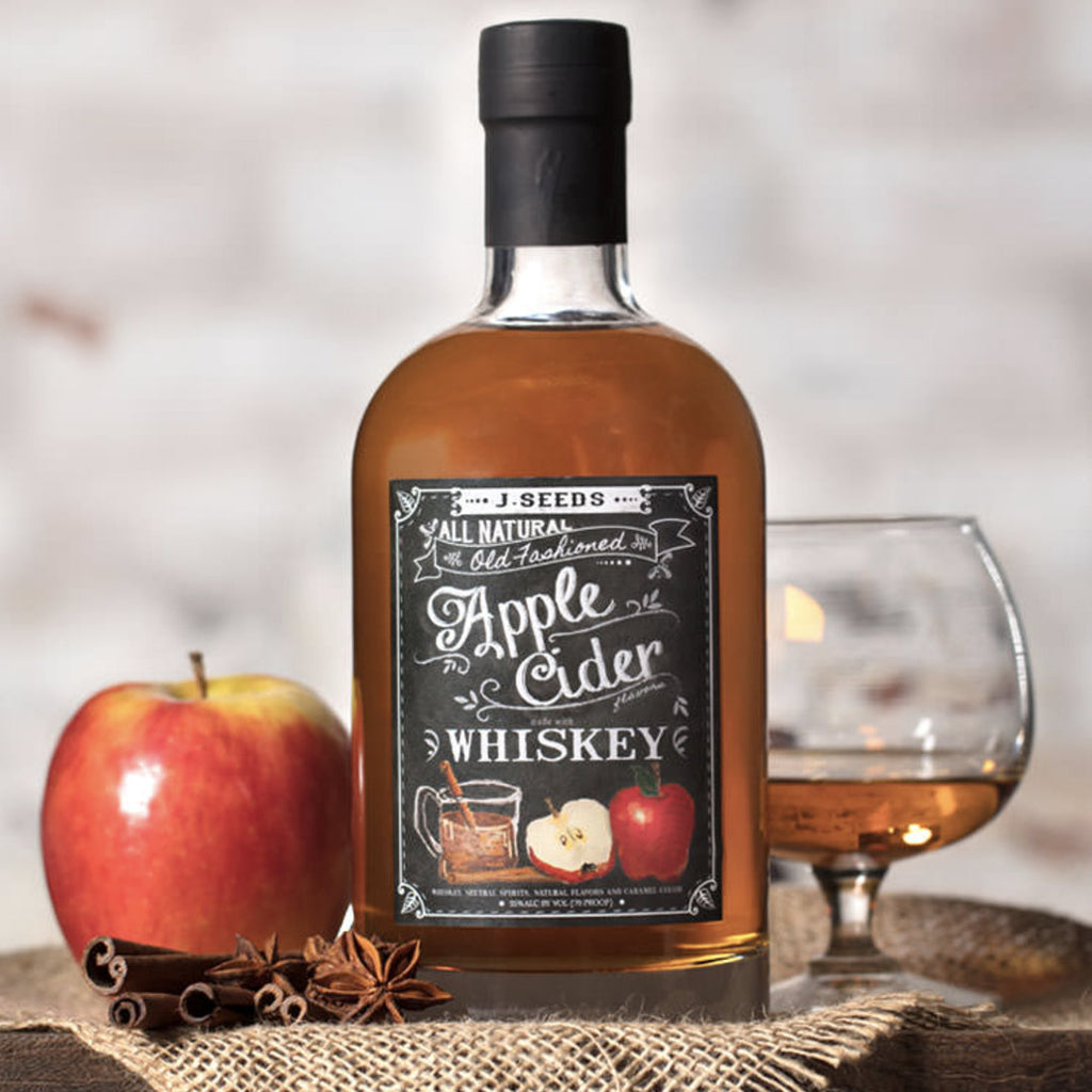 J Seeds Apple Cider Whiskey 750mL