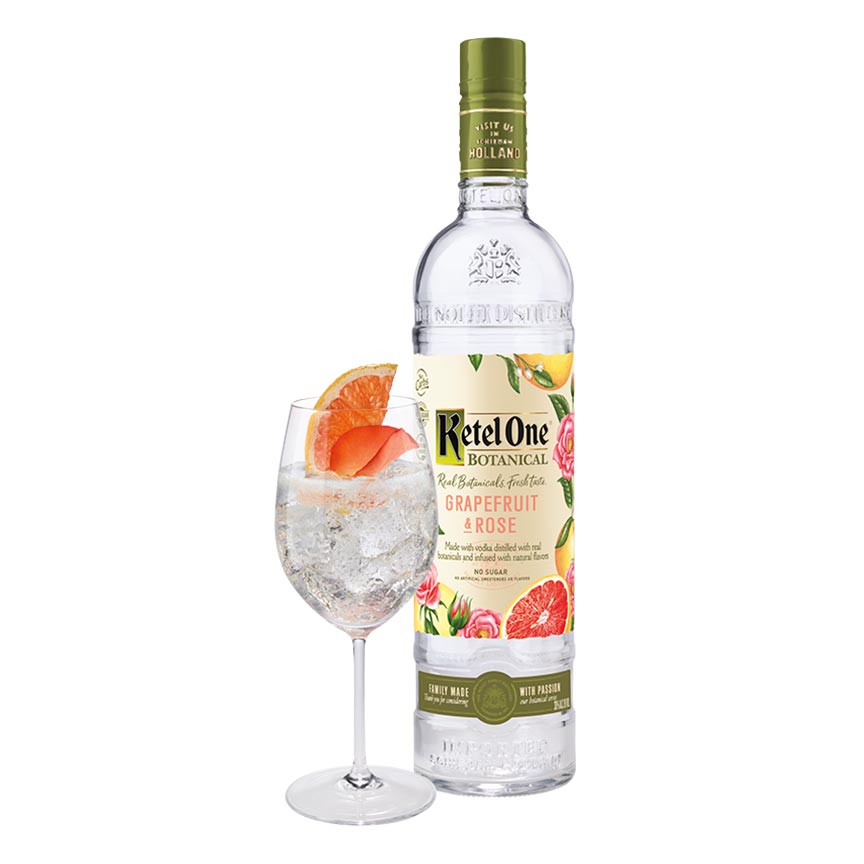 Ketel One Grapefruit & Rose Botanical Vodka 750mL