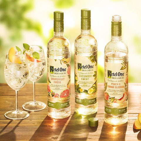 Ketel One Peach & Orange Blossom Botanical Vodka 750mL