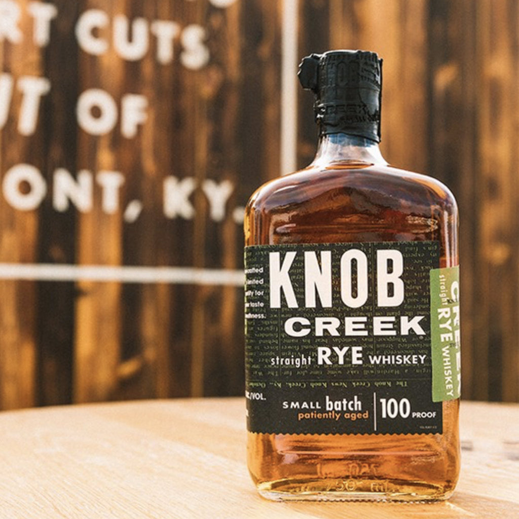 Knob Creek Straight Rye 750mL