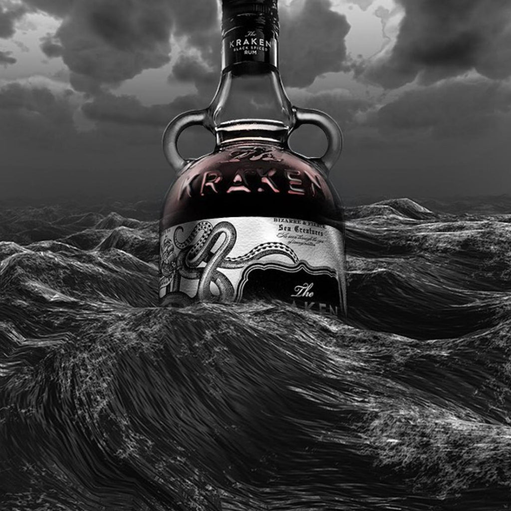 Kraken Dark Spiced Rum 750mL