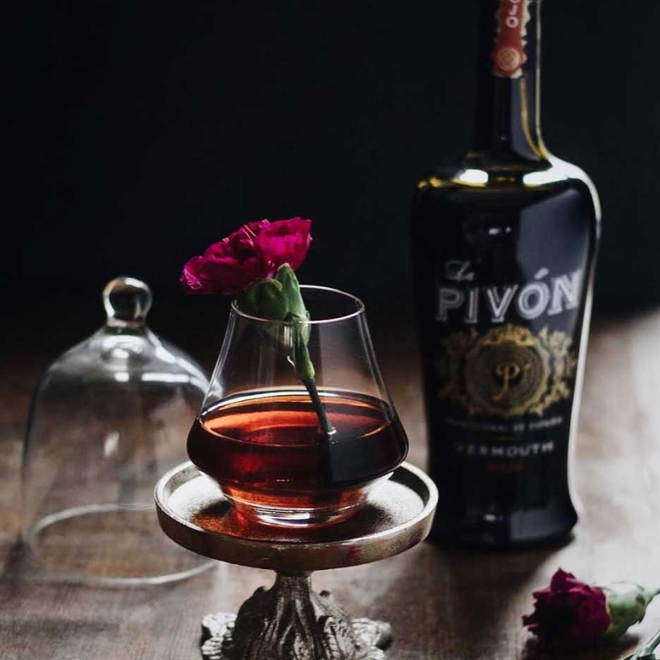 La Pivon Vermouth Rojo 750mL