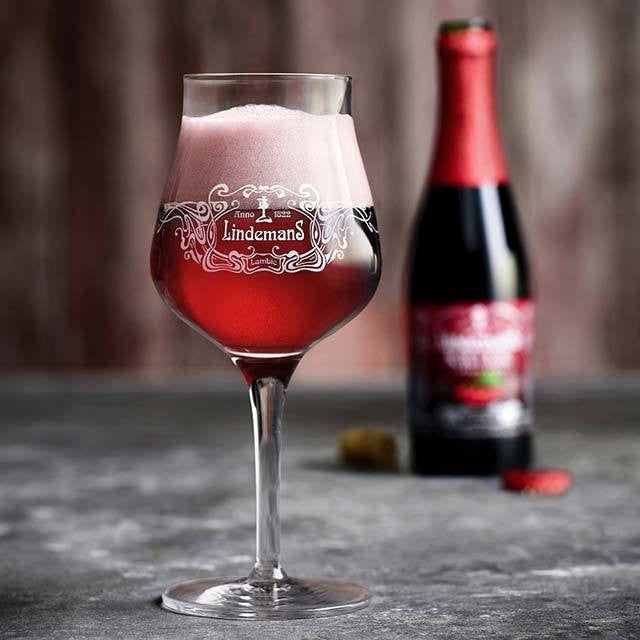 Lindemans Kriek Lambic 12oz.