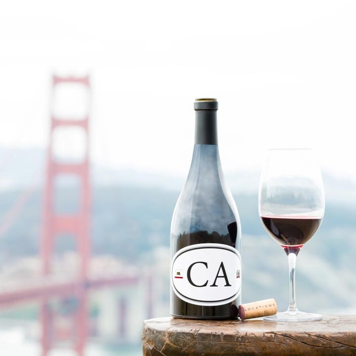 Locations California Red Wine