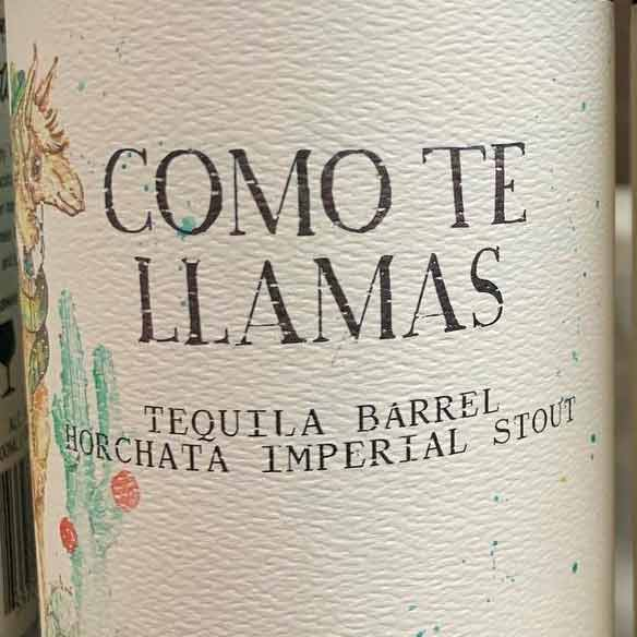 Monday Night Brewing Como te Llamas 375mL