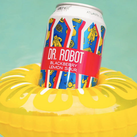 Monday Night Dr. Robot Raspberry Lemon Sour 6pk