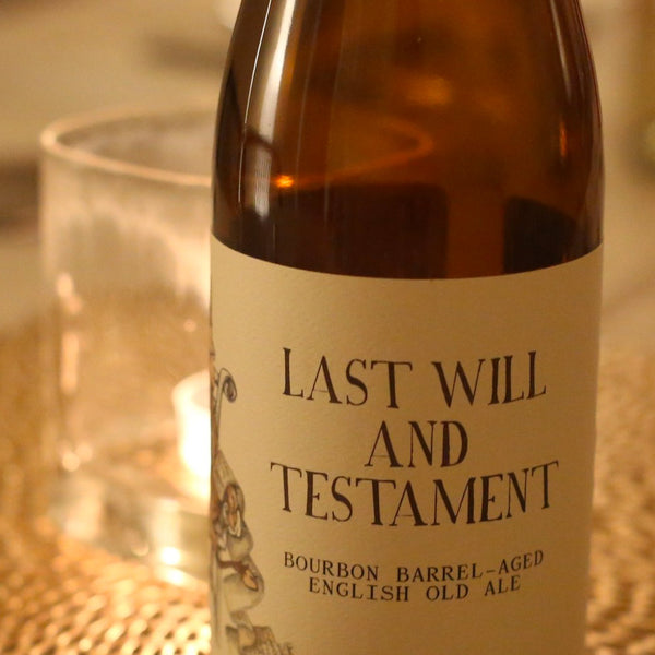 Monday Night Brewing Last Will & Testament 17oz.
