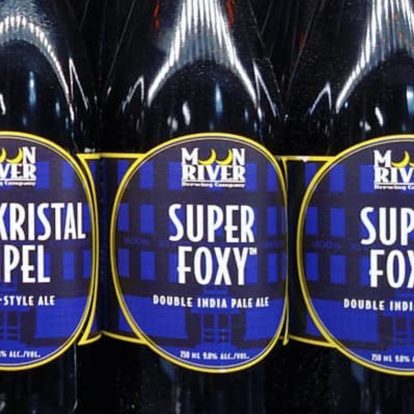 Moon River Super Foxy Double IPA 750mL