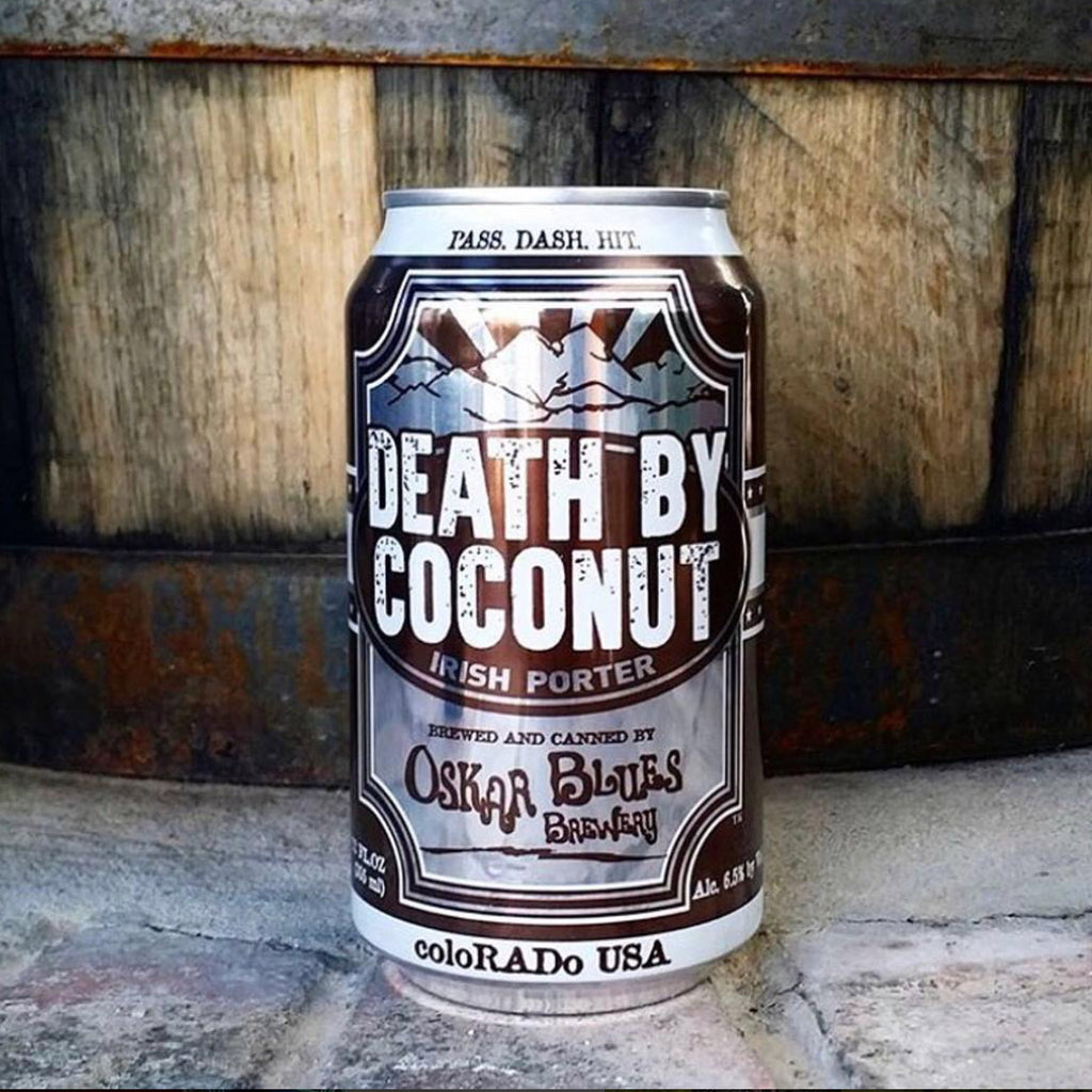 Oskar Blues Death by Coconut 4pk