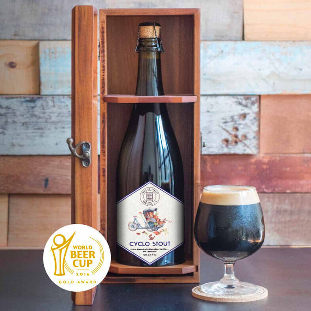Pasteur St. Cyclo Imperial Chocolate Stout 750mL