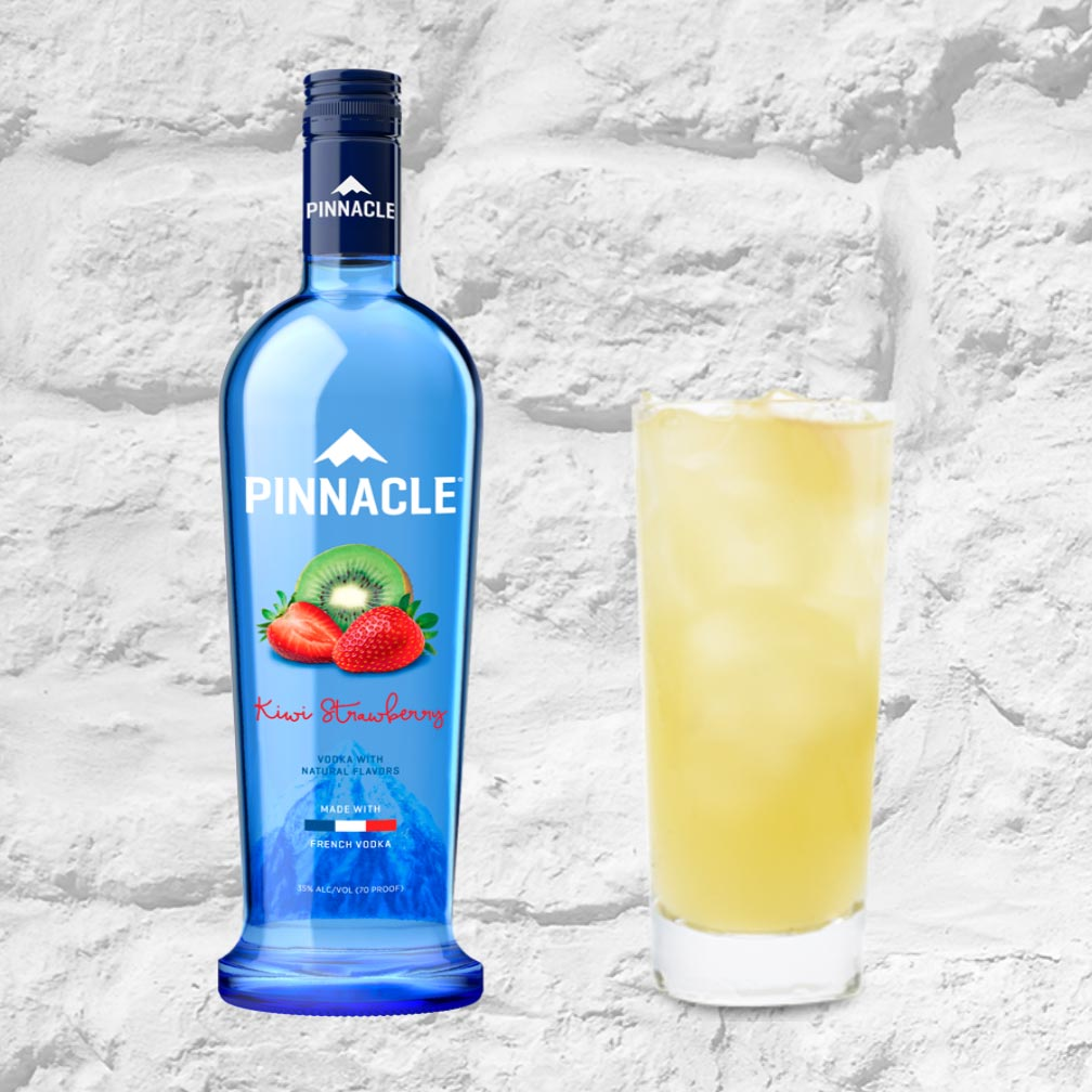 Pinnacle Kiwi Strawberry Vodka 750mL