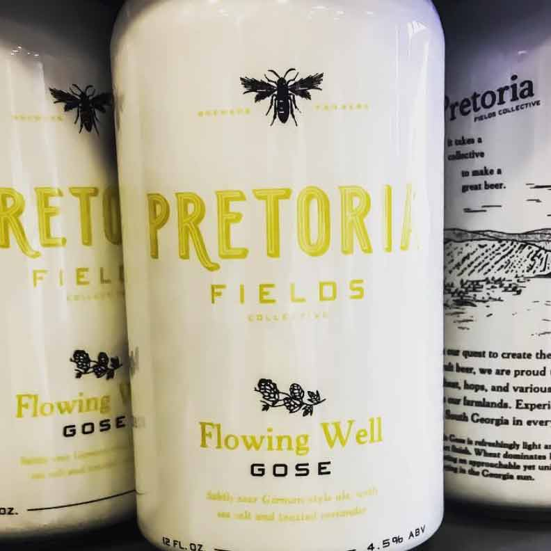 Pretoria Fields Flowing Well Gose 6pk Cans