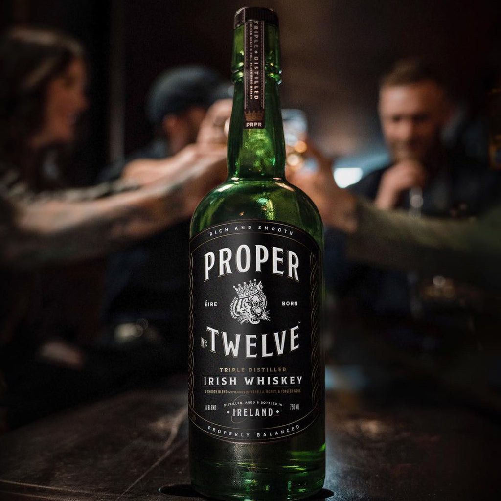 proper twelve  Proper Twelve Irish Whiskey – Habersham Beverage