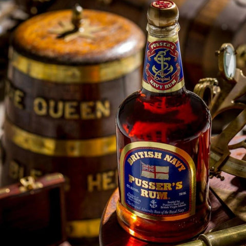Pusser's British Navy Rum 750mL