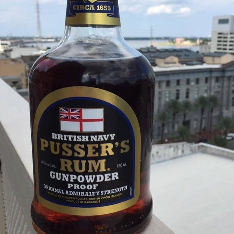 pusser s gunpowder rum 750ml habersham beverage