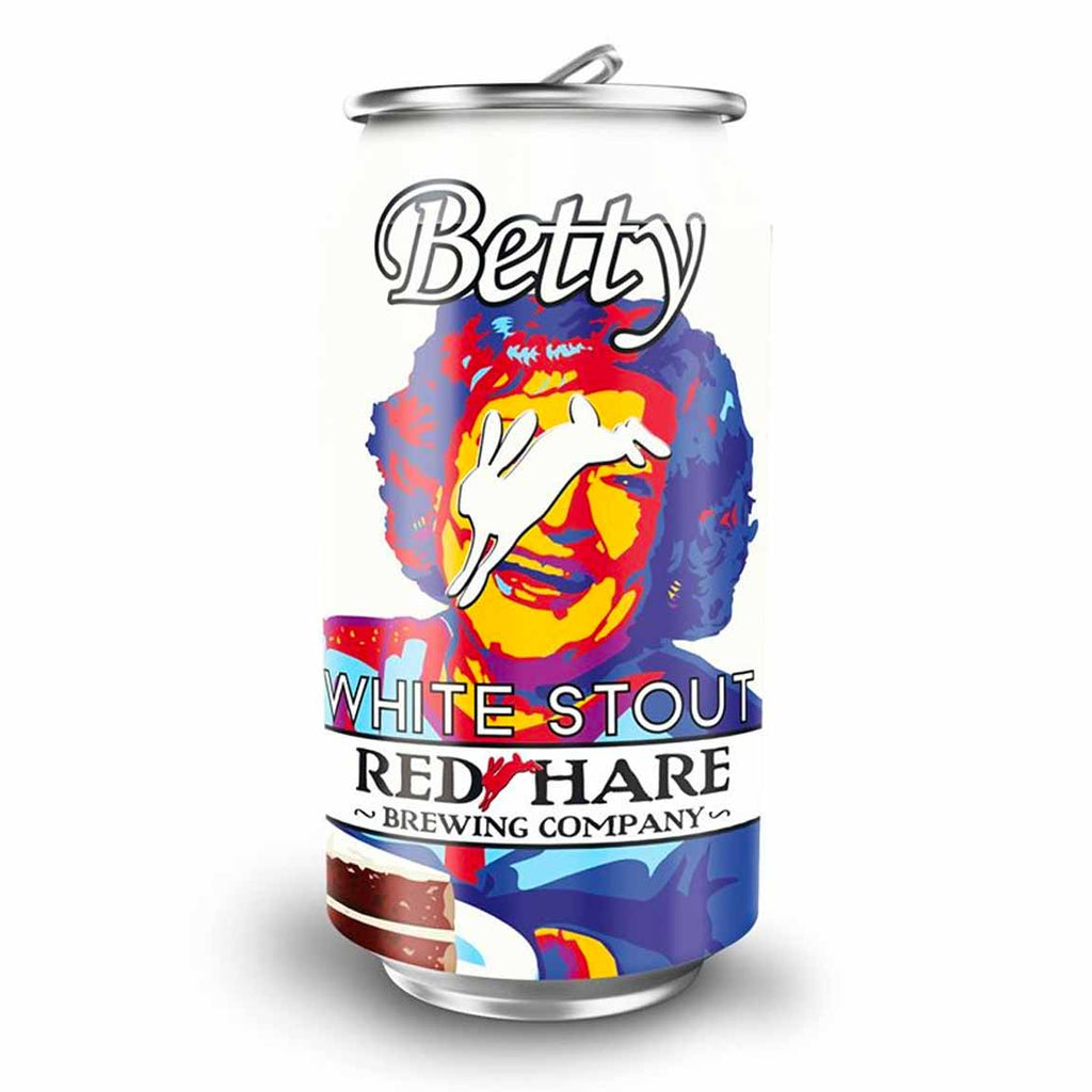 Red Hare Betty White Stout 6pk