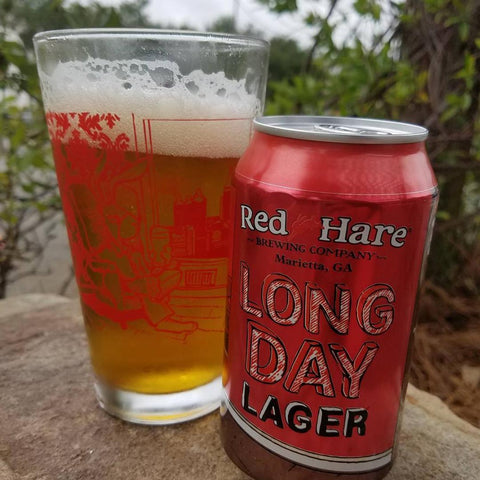 Red Hare Long Day Lager 6pk