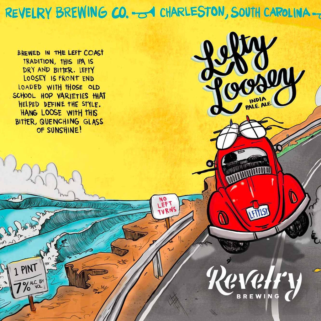 Revelry Lefty Loosey IPA 6pk