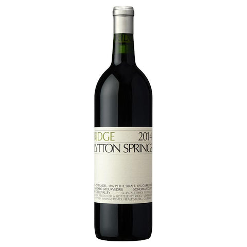 Ridge Lytton Springs Red Blend (Zin) 2014