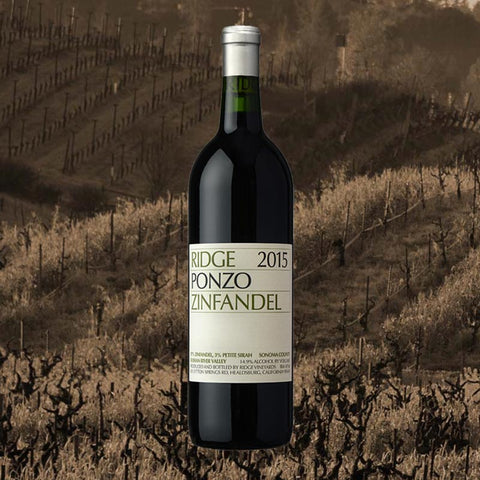 Ridge Ponzo Ranch Zinfandel 2015