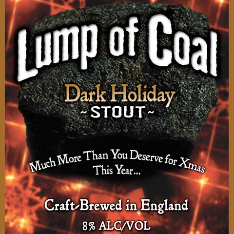 Ridgeway Lump of Coal Dark Holiday Stout 500mL