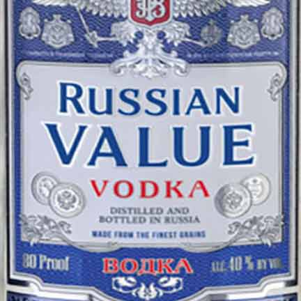 Russian Value Vodka 1.75L