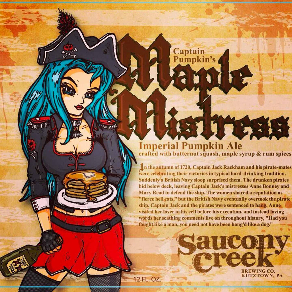 Saucony Creek Maple Mistress Imperial Pumpkin Ale