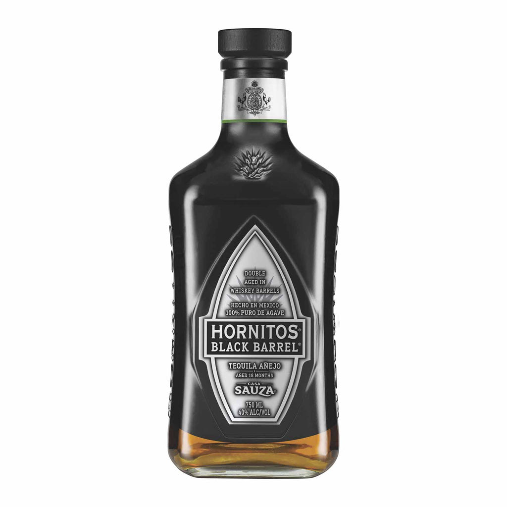 Sauza Hornitos Black Barrel Anejo Tequila 750mL