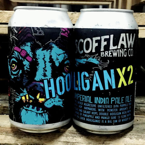 Scofflaw Double Hooligan Imperial IPA 6pk