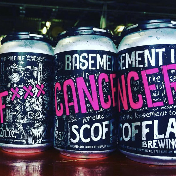 Scofflaw Fxxx Cancer Galaxy IPA 6pk