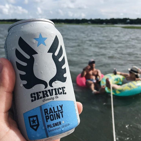 Service Rally Point Bohemian Style Pilsner 6pk