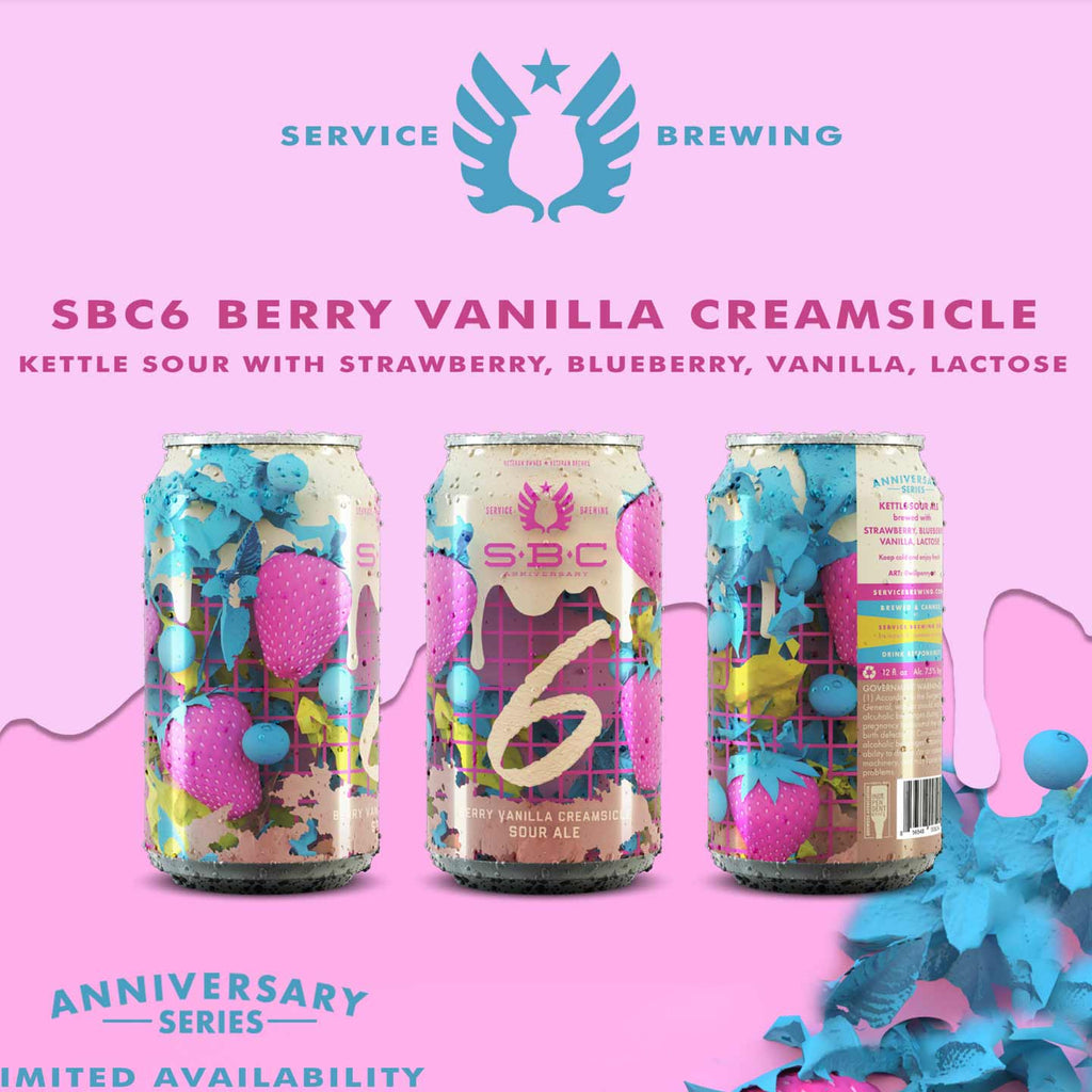 Service Brewing 6th Anniversary Ale
