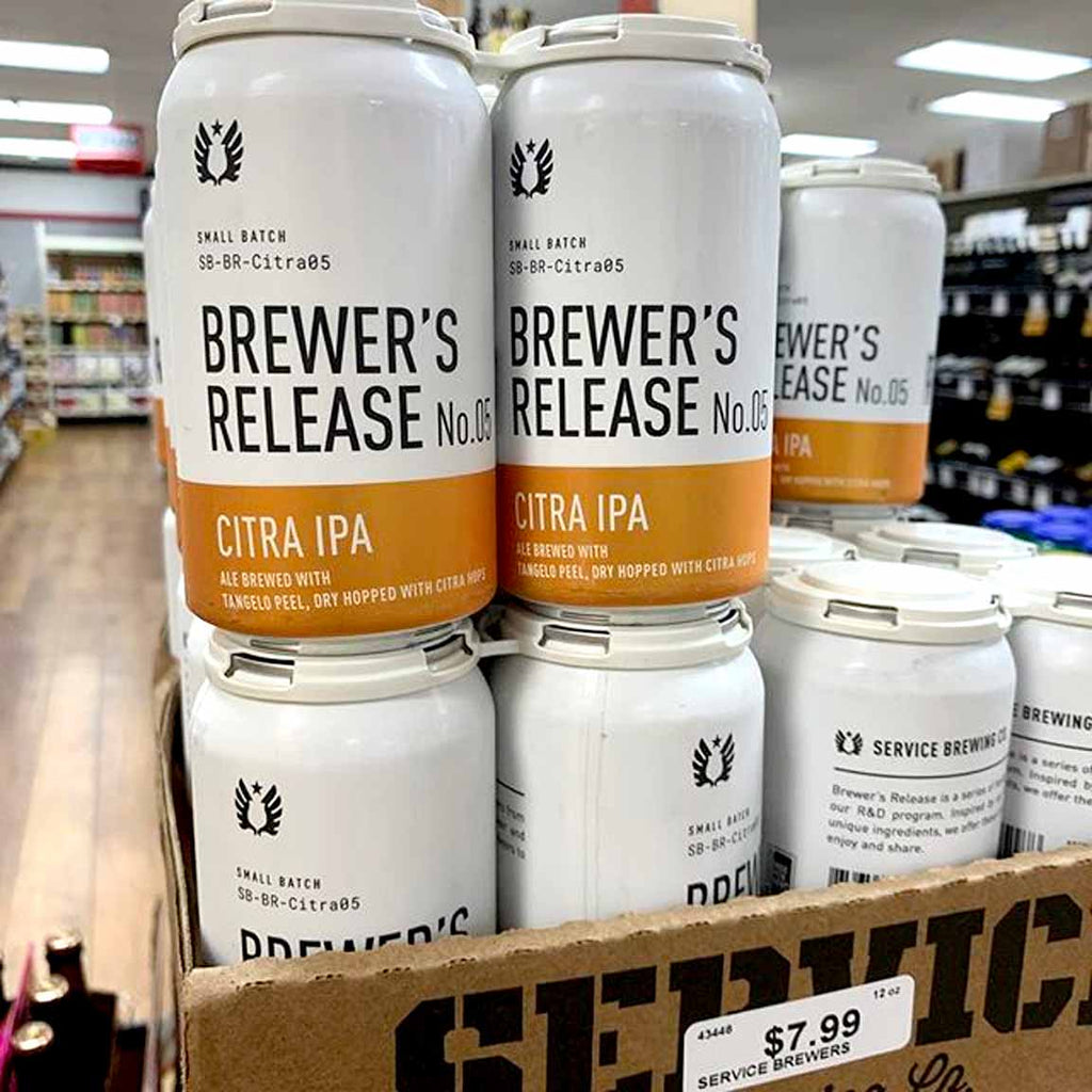 Service Brewer's Release #5 Citra IPA 4pk