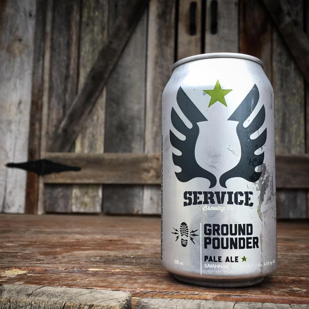Service Ground Pounder Pale Ale 6pk