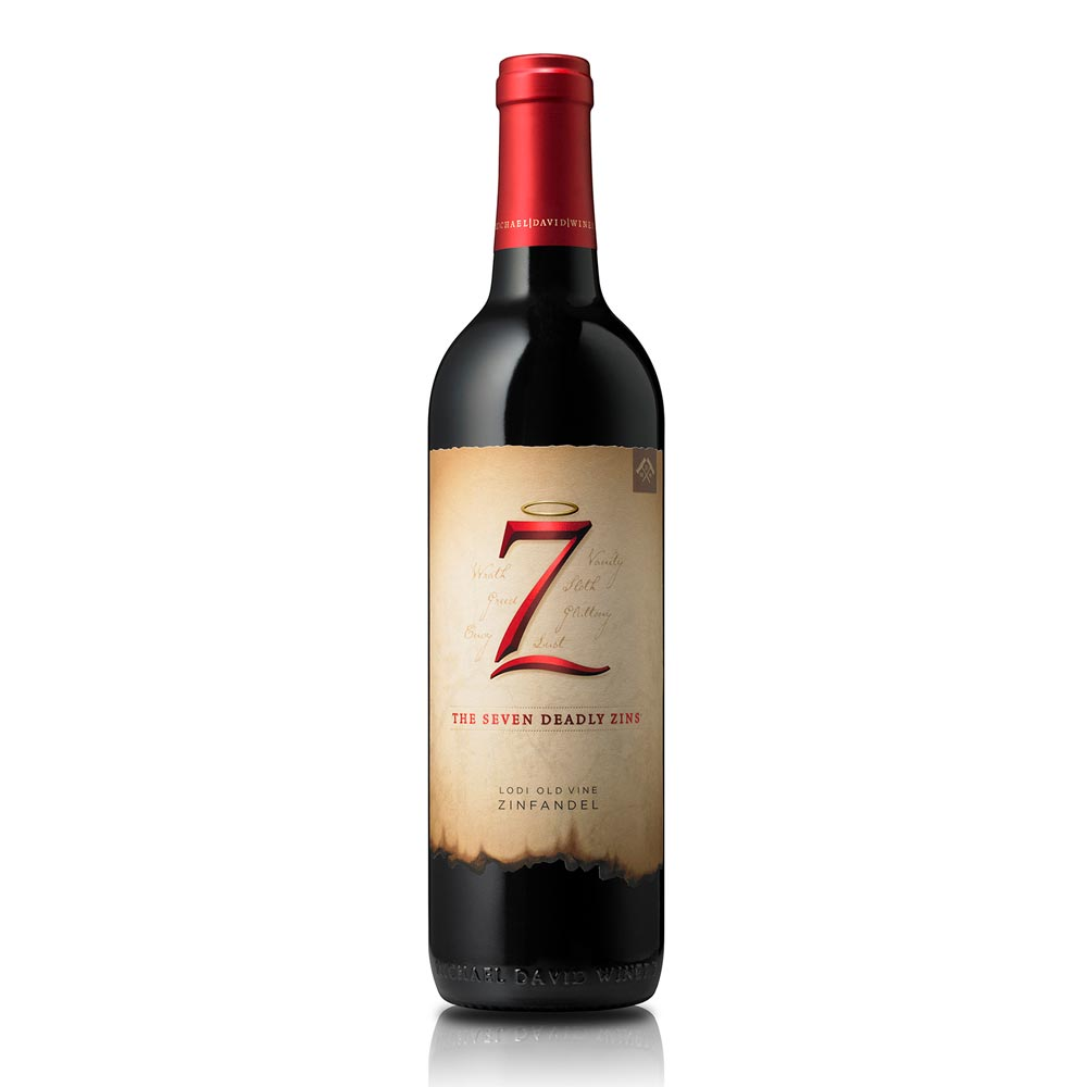 Seven Deadly Zins 2016 by Michael David Winery
